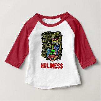 T-shirt de raglan de douille du bébé 3/4 de