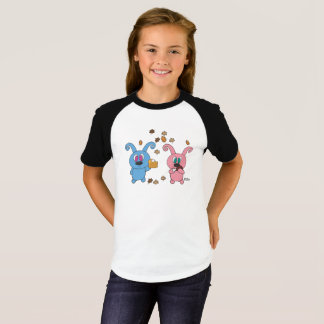 T-shirt de raglan de filles d'automne de Rollys
