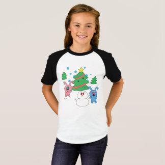 T-shirt de raglan de filles de Rollys d'horaire