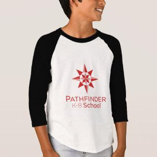 T-shirt de raglan de la jeunesse