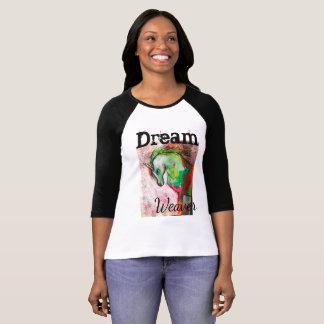 T-shirt de raglan de licorne