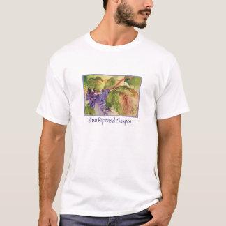 T-shirt de raisin d'aquarelle
