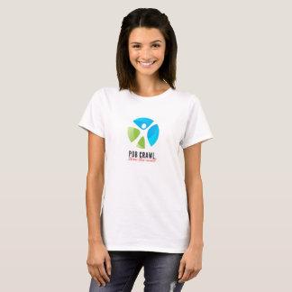 T-shirt de rampement de Pub