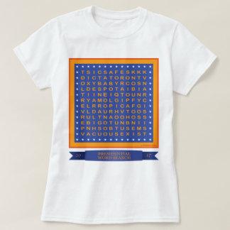 T-shirt de recherche de mot d'atout (pouvez VOUS