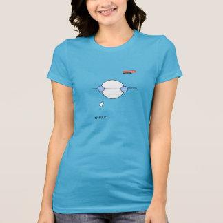 T-shirt de règle de 180 degrés