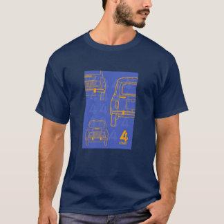 T-shirt de Renault 4L