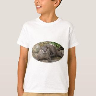 T-shirt de repos de loutre