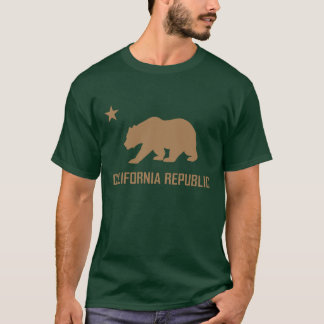 T-shirt de République de la Californie