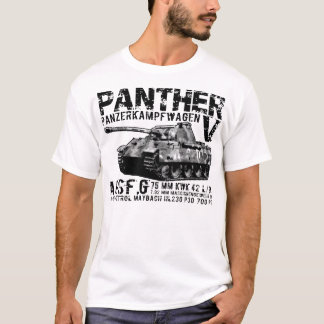 T-shirt de réservoir de panthère