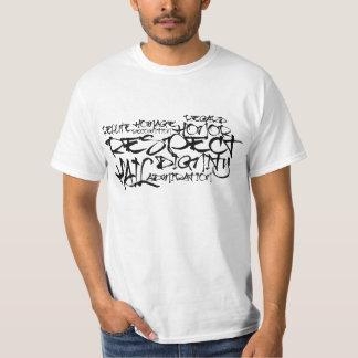 T-shirt de respect