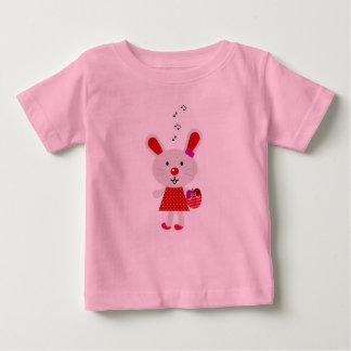 T-shirt de ressort d'enfants avec le lapin