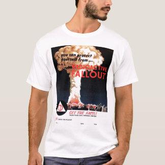 """T-shirt """"de retombées radioactives radioactives"""""""