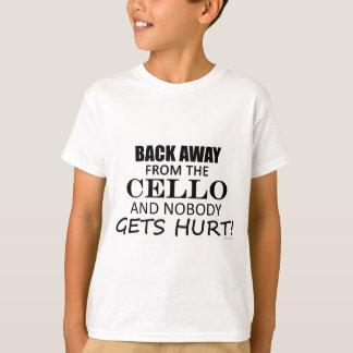 T-shirt De retour à partir du violoncelle