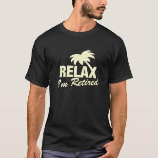 T-shirt de retraite dans des couleurs en pastel