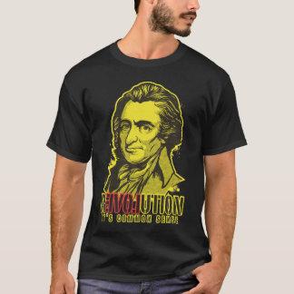 T-shirt de révolution de Thomas Paine