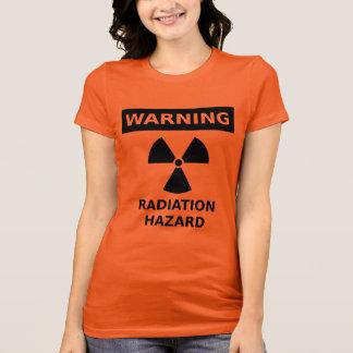 T-shirt de risque d'irradiation