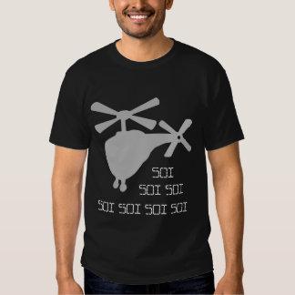 T-shirt de Roflcopter Soi (foncé)
