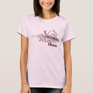 T-shirt de Romeo et de Juliet