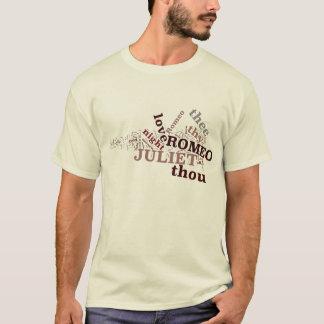 T-shirt de Romeo et de Juliet (m)