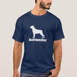 T-shirt de rottweiler