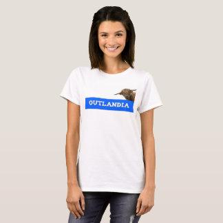 T-shirt de roucoulement d'Outlandia