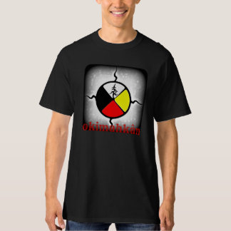 T-shirt de roue de médecine d'Okimahkân