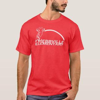 T-shirt de rouge d'école primaire de Hebbville