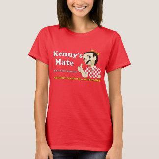 T-shirt de rouge du compagnon de Kenny