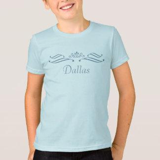 T-shirt de rouleau de diadème de Dallas - enfants