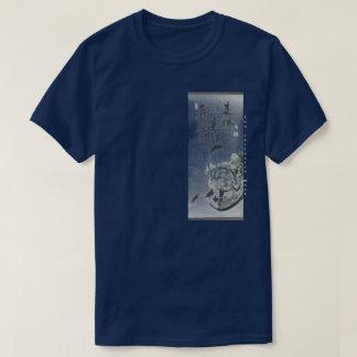 T-shirt de rouleau de moine du DA MOIS