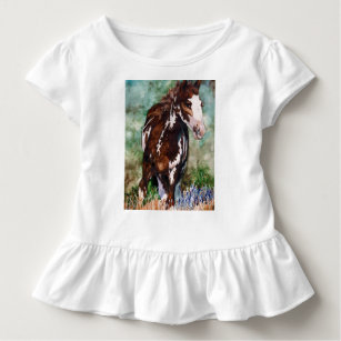 T-shirt de ruche de cheval
