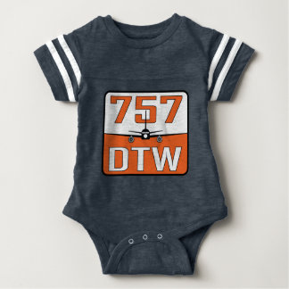 T-shirt de Rupture-Fin de bébé de 757 DTW