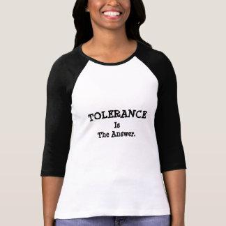 T-shirt de S de FEMMES de TOLÉRANCE '