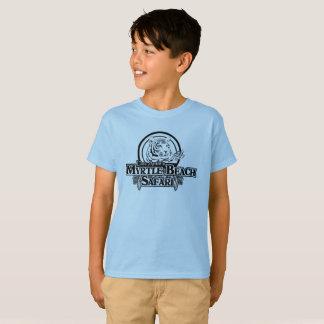 T-shirt de safari de mb d'enfants - BLEU
