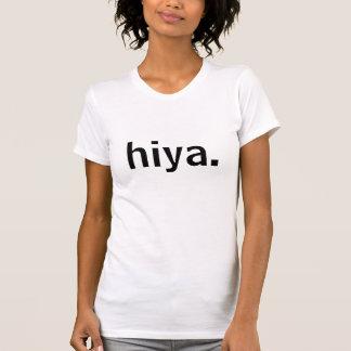 T-shirt de salutation