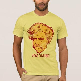 """T-shirt de """"satire de vivats """" de Mark Twain"""