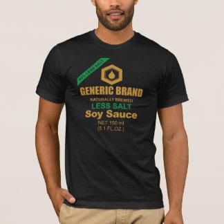 T-shirt de sauce de soja