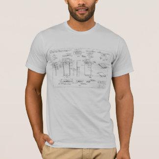 T-shirt de schéma de l'iPhone 5