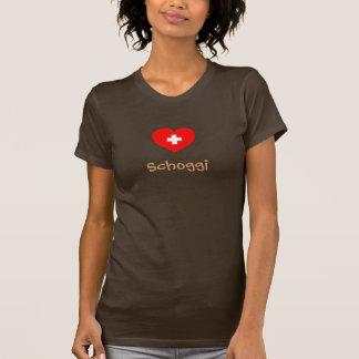 T-shirt de Schoggi (chocolat suisse)