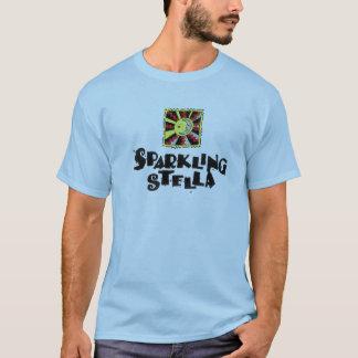 T-shirt de scintillement de Stella