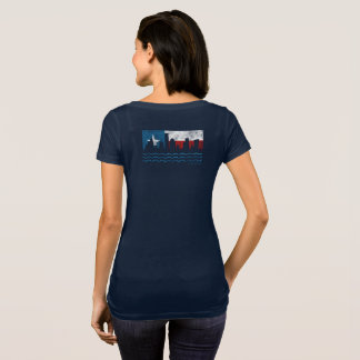 T-shirt de scoop de Harvey d'ouragan fort du Texas