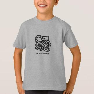 T-shirt de scorpion d'enfants