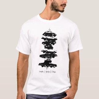 T-shirt de sculpture en voiture de Berwyn