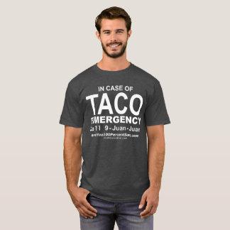 T-shirt de secours de taco (pour la BG foncée)