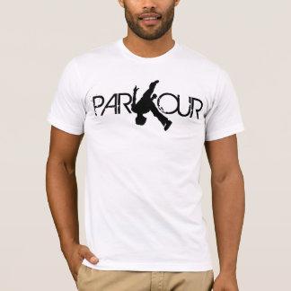 T-shirt de secousse de Parkour