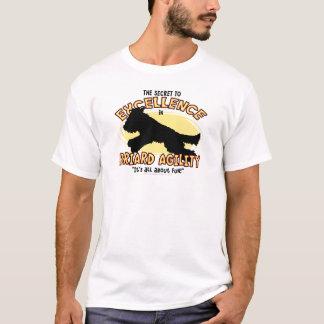 T-shirt de secret de Briard d'agilité
