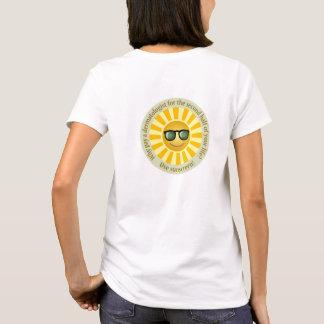 T-shirt de sens de Sun