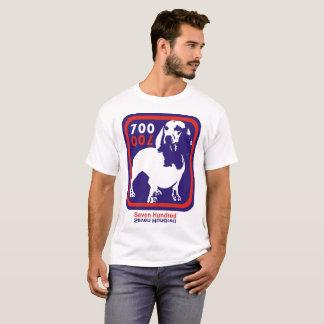 T-shirt de sept cents mascottes