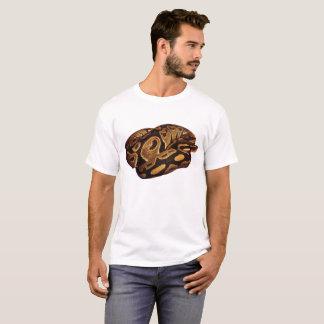 T-shirt de serpent de T-shirt de python de boule