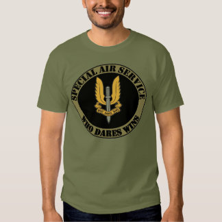 T-shirt de service aérien spécial